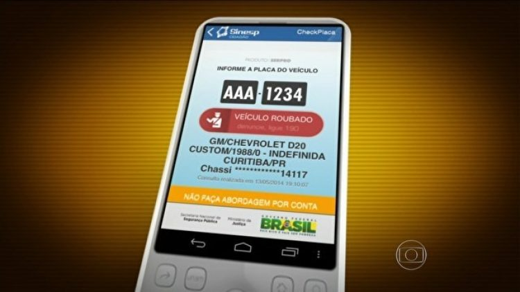 Aplicativo para tablet e celular ajuda a encontrar carros roubados