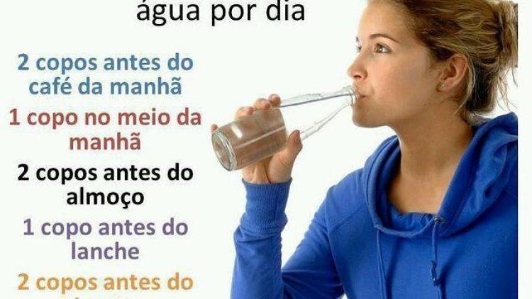 Como beber 2 litros de água por dia