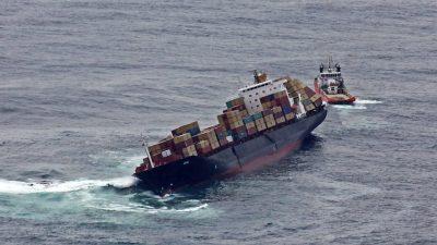 Acidentes com navios de cargas desperta a atenção para o seguro