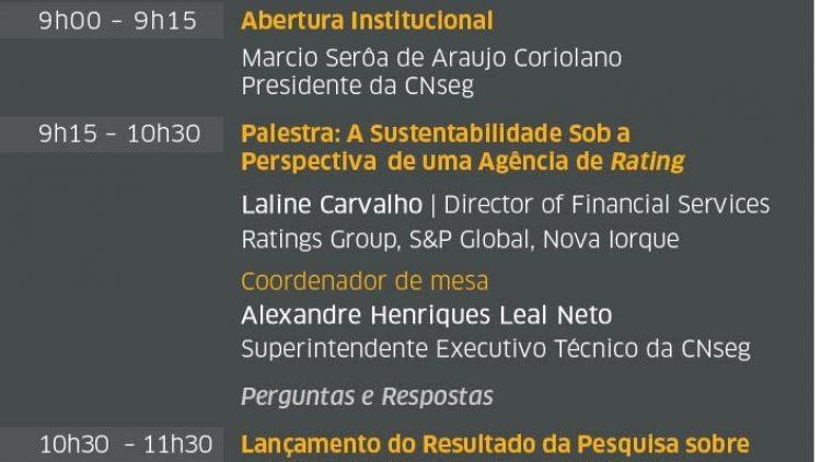 O II Encontro de Sustentabilidade e Inovação do Setor de Seguros acontece em 8/6, no Rio