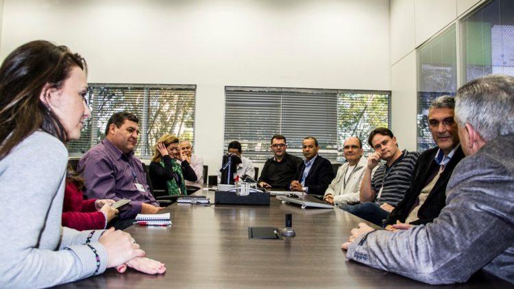 SINDSEGRS visita Centro de Comando da Capital
