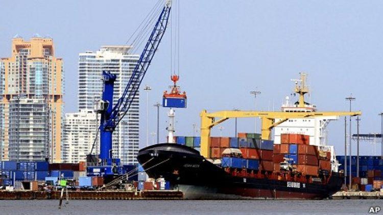 Movimentação de carga recua em portos na AL