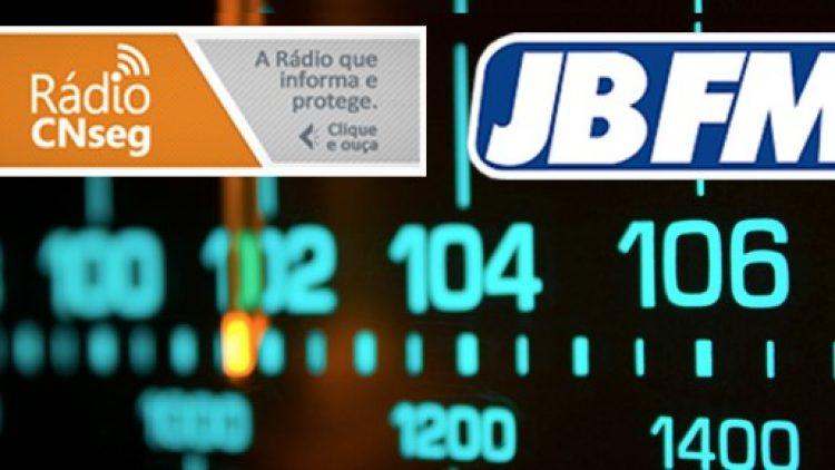 Rádio JBFM inicia transmissão de boletins diários da Rádio CNseg