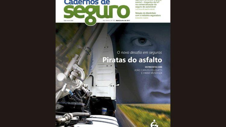 Nova Cadernos de Seguro analisa roubo de cargas no Brasil