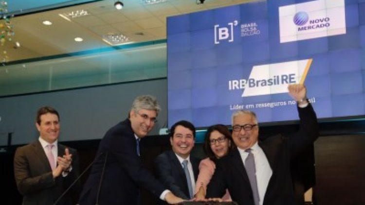 IRB Brasil Re estréia na B3; BB Seguros alienará 14 milhões de ações