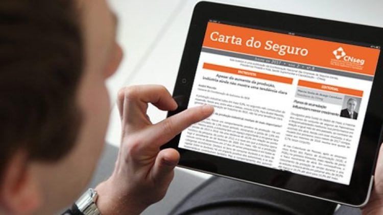 Mercado segurador registra crescimento de 7% em maio, destaca CNseg