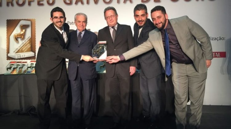 Allianz recebe Troféu Gaivota de Ouro 2017