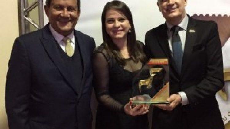 GBOEX recebe Troféu Gaivota de Ouro