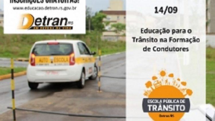 Detran/RS oferece curso para instrutores de Centros de Formação de Condutores