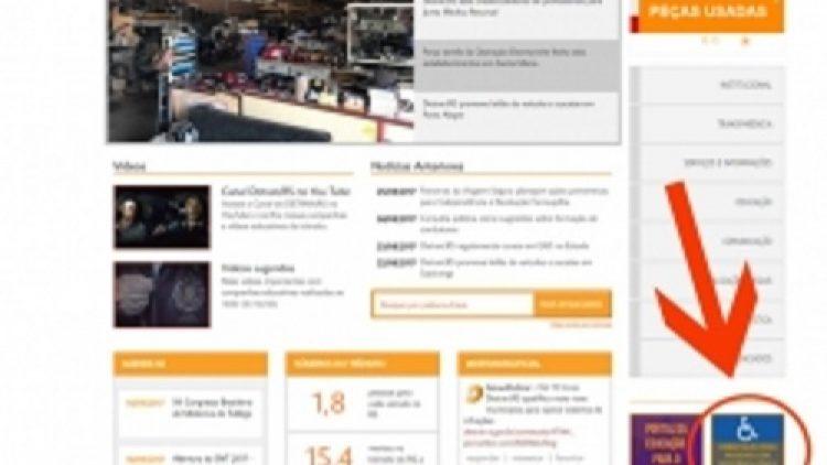 Detran/RS publica manual para pessoas com deficiência ou mobilidade reduzida