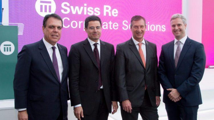 União oficializada entre Swiss Re Corporate Solutions Brasil e Bradesco Seguros