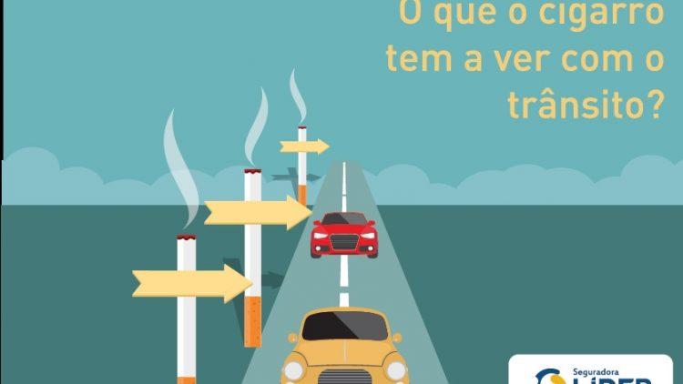 Dirigir e fumar, nem pensar