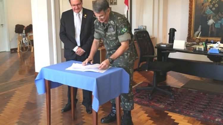 DetranRS compartilha com Comando Militar do Sul acesso a sistemas informatizados de trânsito