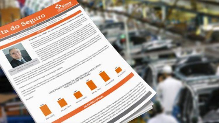Carta do Seguro: VGBL representou mais de 44% na arrecadação do setor em 2017 (menos DPVAT