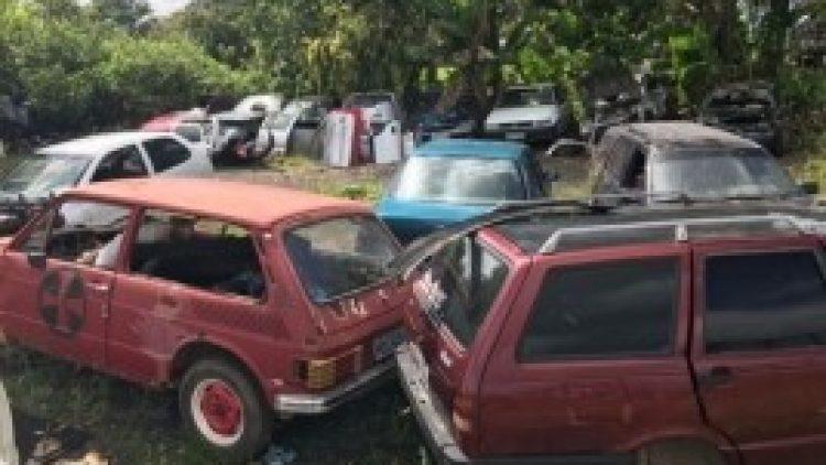 Operação Desmanche resulta na apreensão de 50 toneladas de sucata automotiva em Curumim