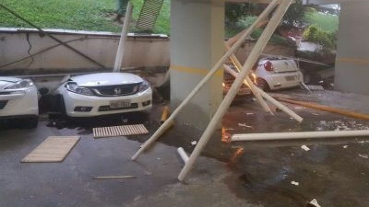 Moradores da 210 Norte acionarão seguro do carro para cobrir prejuízos