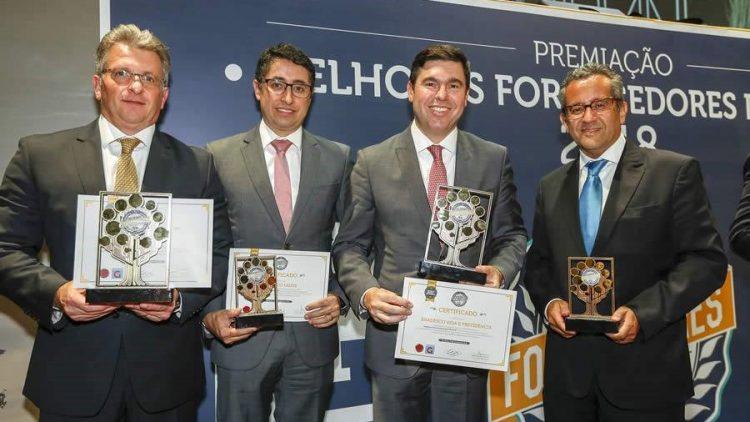 """Grupo Bradesco Seguros leva quatro troféus no prêmio """"Melhores Fornecedores para RH"""""""
