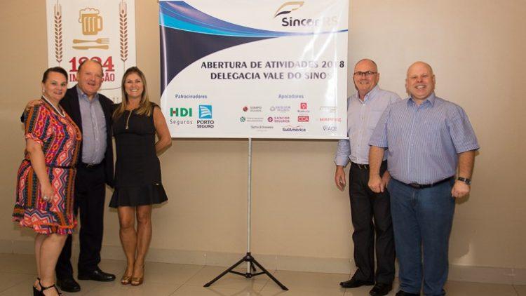 Sincor-RS reúne cerca de 100 pessoas na abertura das atividades sociais das delegacias do Vale dos Sinos e da Região Metropolitana