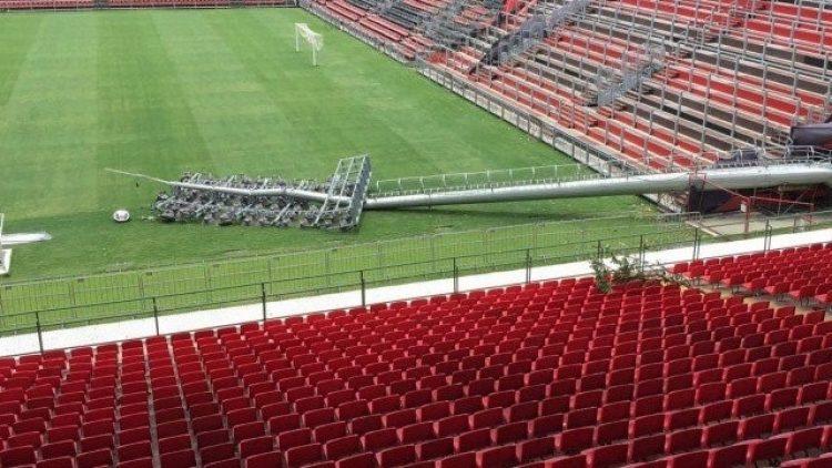 Flamengo terá laudo sobre a Ilha até quarta e saberá se seguradora vai pagar prejuízo
