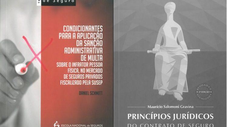 Novos livros abordam normas da Susep e princípios jurídicos