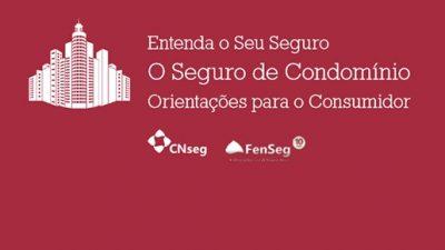 Cartilha explica regras e condições do seguro de condomínio