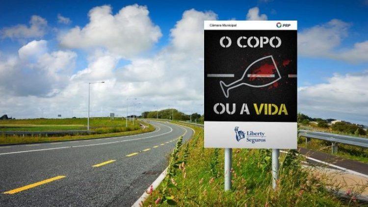 """""""O Copo ou a Vida"""": Nova campanha contra a condução sob efeito de álcool"""