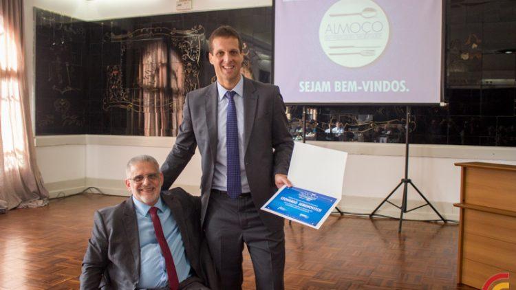 Almoço do Mercado Segurador – 17 de maio de 2018 – Palestrante Sr. Leonardo Semenovitch – Presidente da Travelers Brasil Seguros