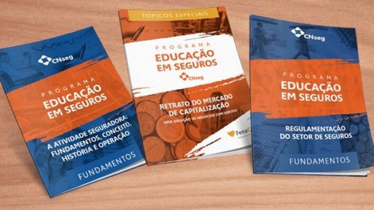 CNseg lança mais três livretos do Programa de Educação em Seguros