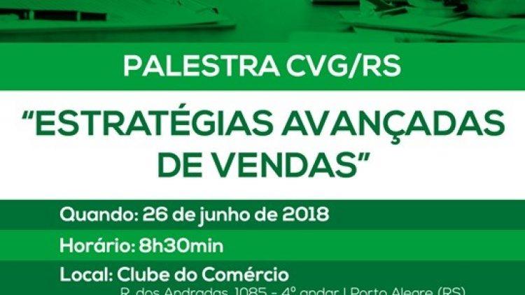 Palestra CVG/RS – 26 de Junho