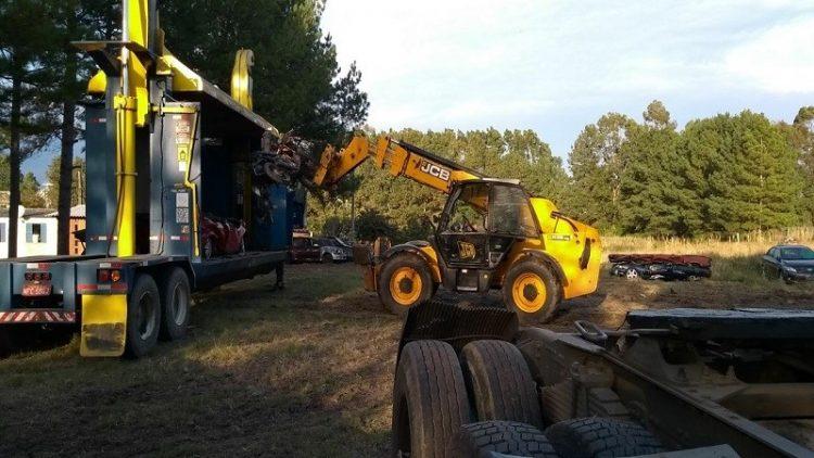DetranRS recicla sucatas de veículos em Arroio Grande