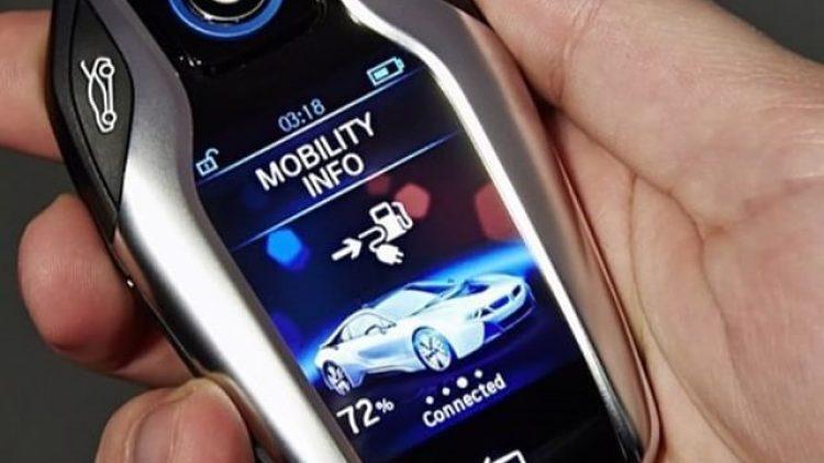 A chave para as chaves virtuais de carros