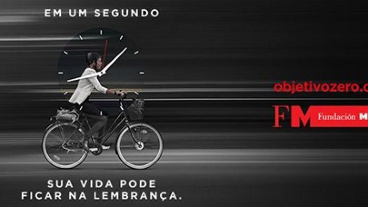 Fundación MAPFRE faz campanha para reduzir acidentes de trânsito