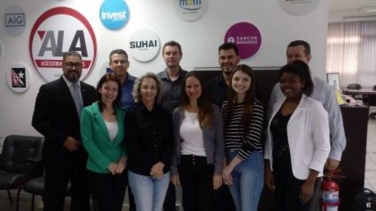 Grupo MBM realiza treinamento na ALA Assessoria em Seguros
