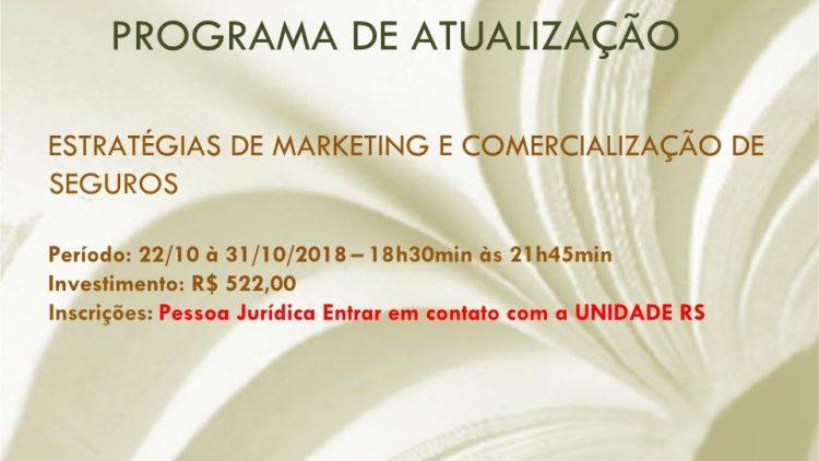 Estratégias de Marketing e Comercialização de Seguros. Curso rápido e Conteúdo prático