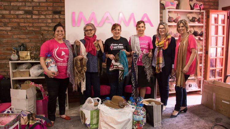 Confrasol e GBOEX entregam doações para o IMAMA