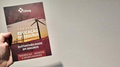 Livreto de Sustentabilidade em Seguros é lançado durante Seminário de Riscos ASG e Riscos Emergentes