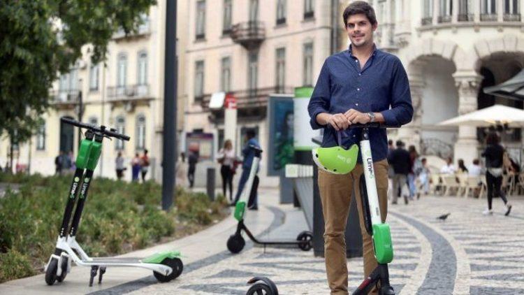 Lime oferece capacetes para evitar multas nas Trotinetes