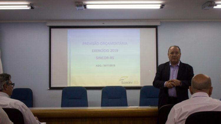 Sincor-RS realizou Assembleia Geral Ordinária na última sexta-feira