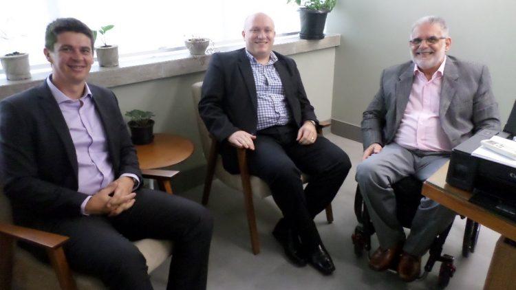 Visita dos representantes da Sancor Seguros do Brasil S.A.