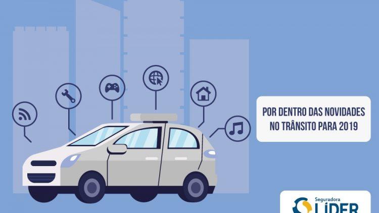 Veja o que muda na lei de trânsito em 2019