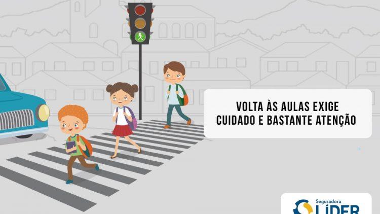 Volta às aulas: todo cuidado é pouco no trânsito