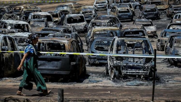 Festival Andanças absolvido no incêndio que atingiu 458 carros