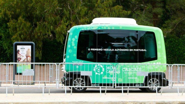É este o primeiro veículo totalmente autónomo a circular em Portugal